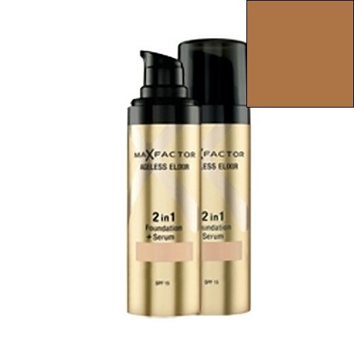 Ageless Elixir 2in1 Foundation & Serum by Max Factor 85 Caramel SPF15 30ml
