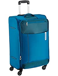 American Tourister Portugal Polyester 79 cms Teal Soft Sided Suitcase (AMT Portugal SP 79CM Teal)