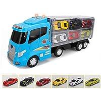 Kleinkindspielzeug Spielmaus 41502851 Holz Kleine Rollbahn mit Autos