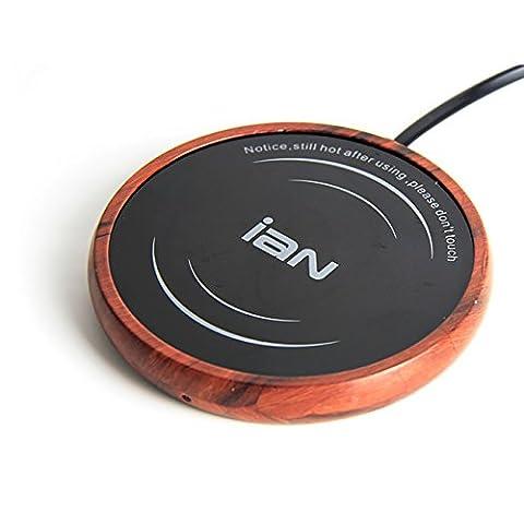IAN Für größere Ansicht Maus über das Bild ziehen 220V Stecker mit SchalterMultifunktionale Becher-Wärmehaltungsplatte, Büro, Tassenwärmer, Tee, Kaffee (Tiefkorn)