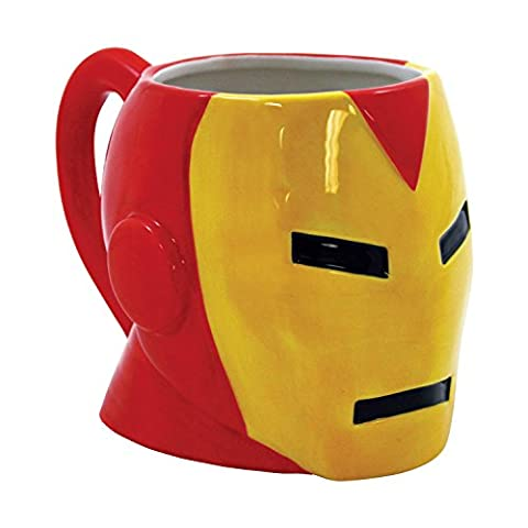 Marvel Iron Man Molded Head 19 oz Ceramic Mug