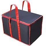 NISUN Classic Big Handy File Cloths Storage Bag Organizer for Books Magazine 22x13.5x14.5