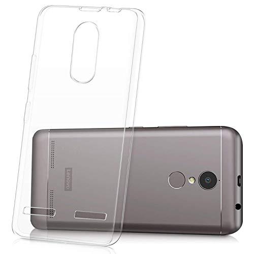 ykooe Handyhülle für Lenovo K6 Hülle Transparent Handy Schutzhülle Crystal Clear Case Durchsichtige TPU Bumper (5 Zoll)