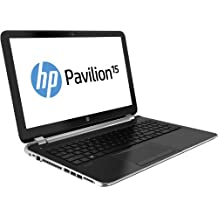 """HP Pavilion 15-n061ss - Portátil de 15.6"""" (AMD A6-5200, 4 GB de RAM, Disco HDD de 500 GB, AMD Radeon HD 8670M con 1 GB, Windows 8), plateado metálico"""