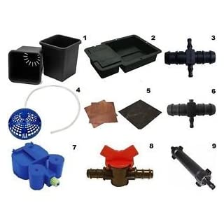 Autopot Hydroponic Watering System Parts & Accessories - Black & Copper Disc - Qty 2