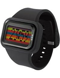 ODM DD125-1 - Reloj de pulsera para hombre, color multicolor negro