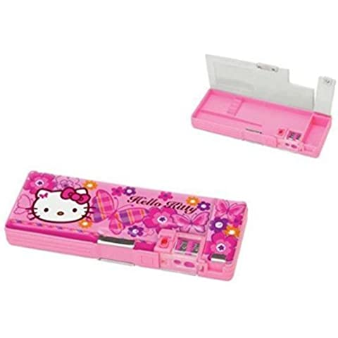 Hello Kitty Retro Deluxe Mechanical Pencil Case: farfalla - Deluxe Pencil Case