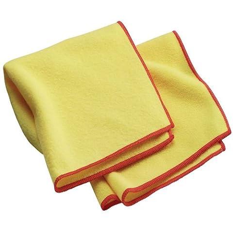 Chiffons à Épousseter E-cloth, Jeu de 2, Jaunes