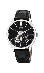 Lotus Watches Reloj Análogo clásico para Hombre de Automático con Correa en Cuero 18536/4