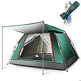 Kuppelzelte LIUSIYU 3 Personenzelt 4 Season Wasserdicht Winddicht Ultralight Camping 2 Sekunden Geschwindigkeit offen automatisch Outdoor Himmelfenster