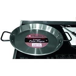 Garcima 85138-Poêle à paella induction Poli 4 r. 38 cm
