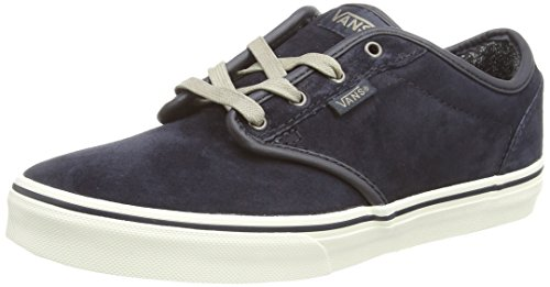 Vans ATWOOD Unisex-Kinder Sneakers Blau ((MTE) blue graphite/marshmallow)