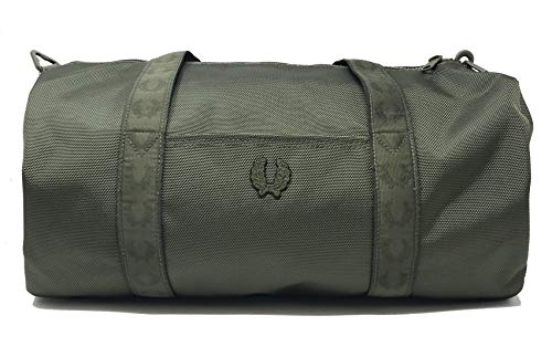 Fred Perry Authentics Tonal Track Barrel Bag One Size Iris