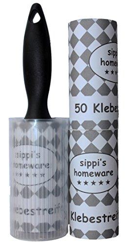 sippis-homeware-fusselroller-fusselrolle-fusselentferner-schwarz-3er-set-150-blatt-kunststoffhulle-f