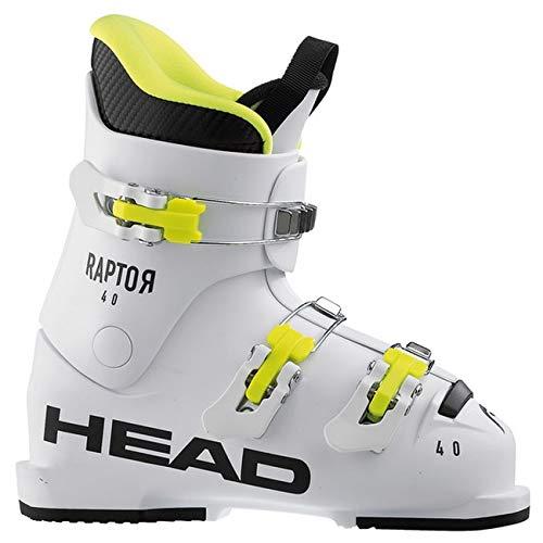 """HEAD Kinder Skischuhe Raptor 40"""" Weiss (100) 24,5"""