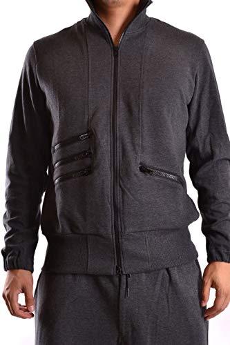 Yohji Yamamoto Luxury Fashion Homme B49839CHARCOALMEL Gris Sweatshirt   Saison Perma