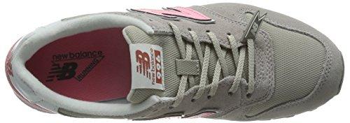 New Balance - Wr996, Scarpe sportive Donna Gris / Fucsia