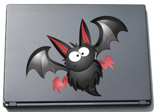 pinkelephant Laptop-Aufkleber - Fledermaus 07 - bat - laptop skin - 150 x 191 mm Aufkleber