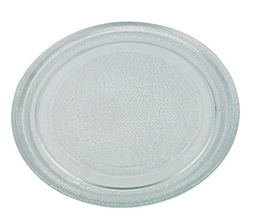 Mikrowellenteller Drehteller Teller Glasteller für Mikrowelle Ofen 24,5 cm