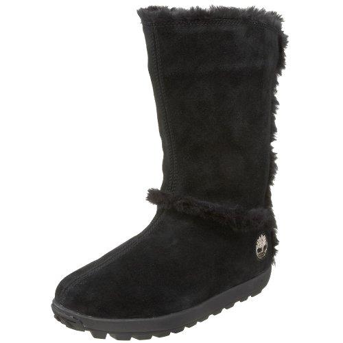 Timberland Earthkeepers Mukluk Pullon Fur Damen Winterstiefel Black