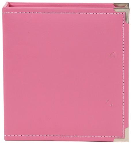 Simple Stories Leder Snap Leder Binder 6x 20,3cm, Pink (Snap Pink Leder)