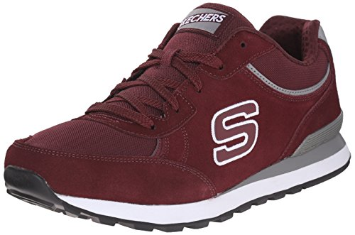 Skechers (SKEES) Og- 82, Scarpe Tecniche Uomo Rosso (BURG)