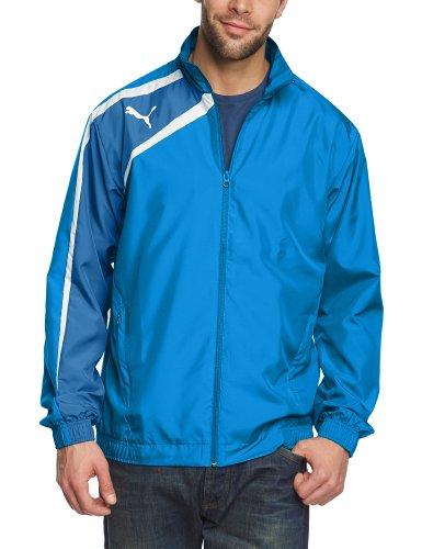 Puma Herren Jacke Spirit Woven, Puma Royal/Delft Blue/White, L, 653584 02