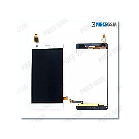 ECRAN LCD + VITRE TACTILE pour HUAWEI P8 LITE BLANC