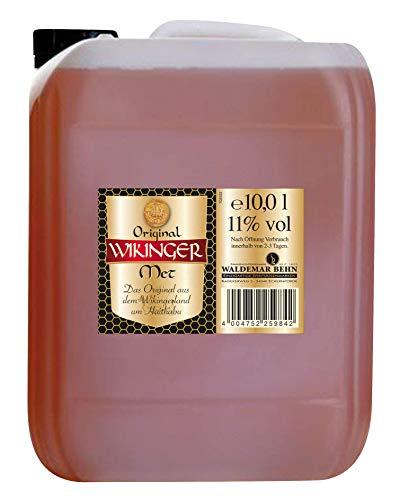 Original Wikinger Met Honigwein Kanister (1 x 10 l) - Der Honigwein/Honigmet aus Haithabu
