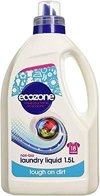 Ecozone Non Bio Liquid Laundry Detergent 1.5 Litre (Pack of 2)