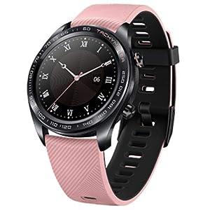 Dkings Huawei Honor Watch Dream Smart-Uhr, LED-Touchscreen, GPS-Fitness-Tracker, Pulsuhr, Sportuhr, wasserdicht – smart – schwarz – pink Watch