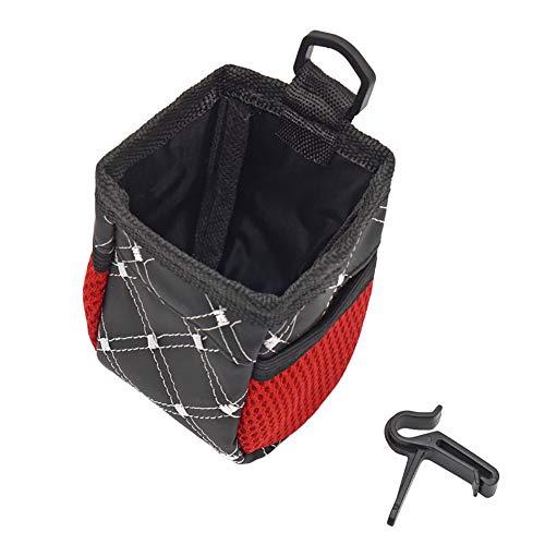 EMHU Car Air Vent Mobile Phone Holder Pocket Debris Storage Pouch Bag Organizer Side Net Pocket