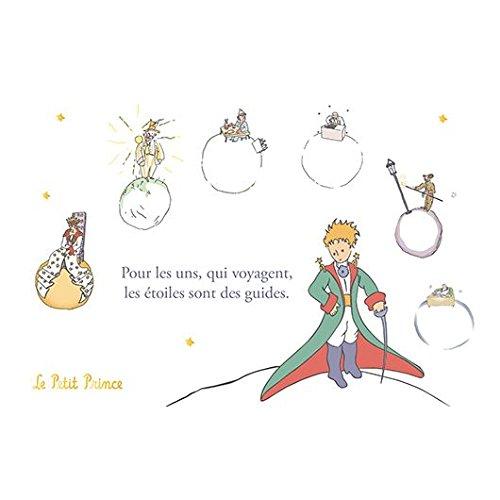 KIUB Karte Der Kleine Prinz, horizontal, goldfarben, 10 x 15 ()