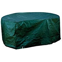Gardman Woven Large Oval Patio Set Cover 34025