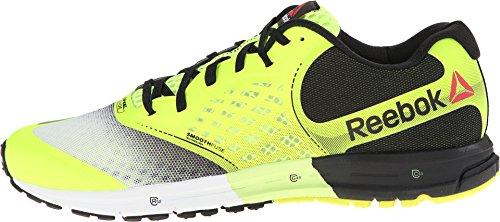Reebok Guide One 2.0 Les Mens Running Shoe Solar Yellow/White/Black