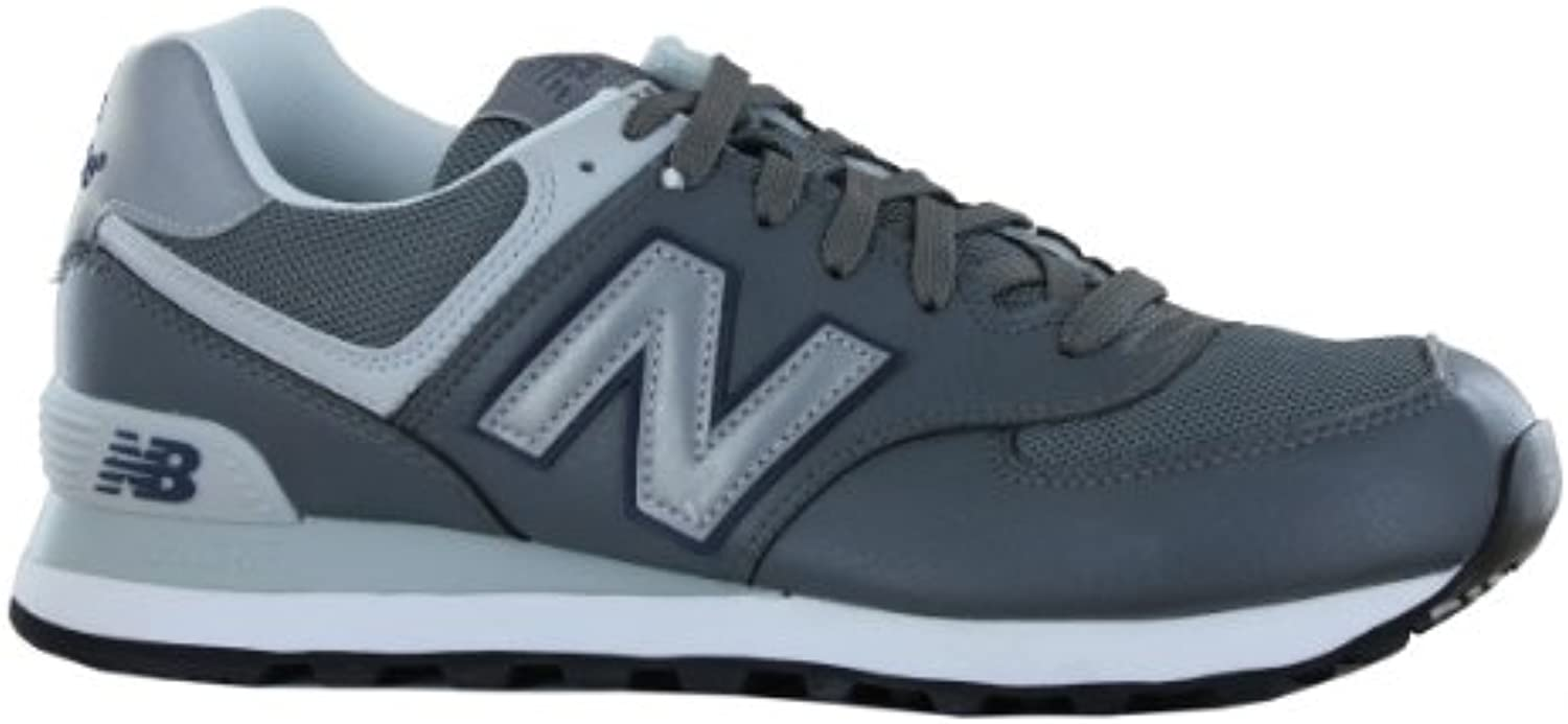 New Balance 574 Traditional Classic Grey Mens Trainers Size 7 UK