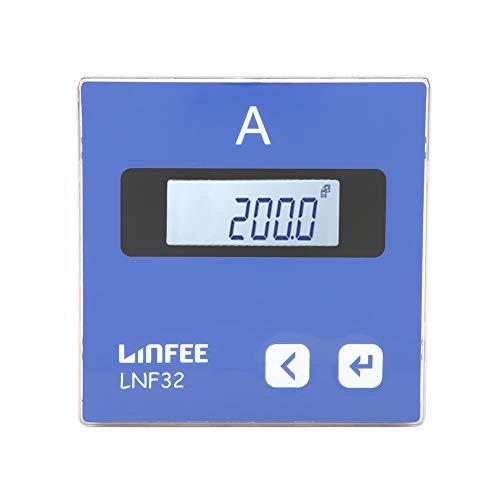 Akozon Inteligente Amperímetro digital de 1 fase