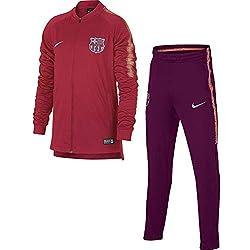 Nike FCB Y NK Dry SQD TRK K Chándal, Unisex niños, Rosa (Tropical Deep Maroon/lt Atomic Pink), XS