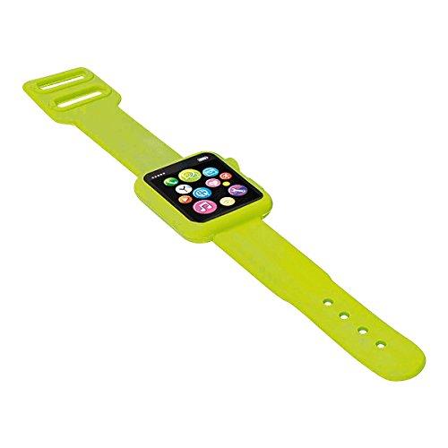 rgummi Smartwatch 19,5 x 3 x 0,8 cm, Kunststoff, Hellgrün ()