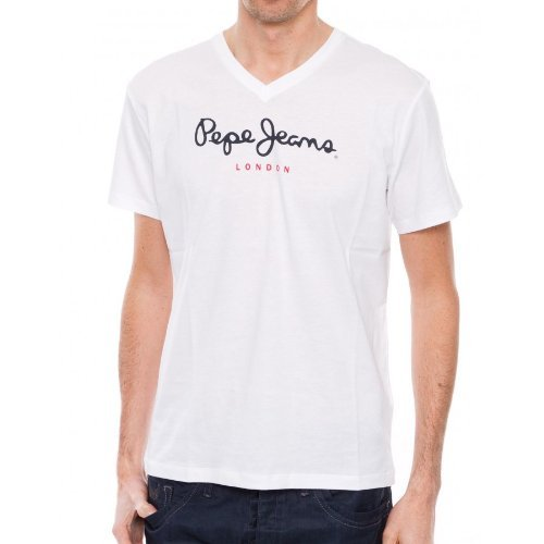 pepe-jeans-eggo-v-camiseta-con-cuello-de-pico-de-manga-corta-para-hombre-talla-37-color-blanco