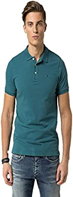 Tommy Hilfiger Thdm Basic S/S 1- Polo para hombre
