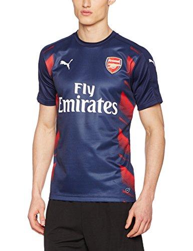 PUMA Herren Afc Stadium Jersey with Sponsor Logo Trikot, High Risk Red, L (Puma Lightweight-jersey)