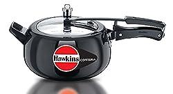Hawkins Contura Hard Anodised Pressure Cooker, 5 Litres