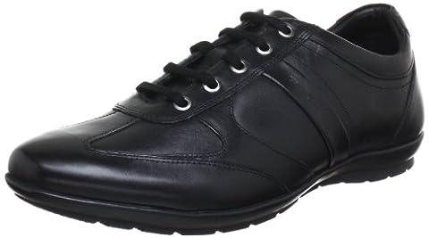 Geox U Symbol C, Sneakers Basses homme, Noir (C9999), 45