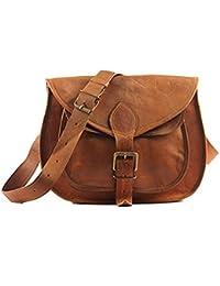 IHandikart Handmade Leather Bag| Duffle Bag|Luggage Bag|Travel Bag| Gym&Yoga Bag 22 Inch