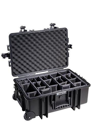 B&W outdoor.cases Typ 6800 mit variabler Facheinteilung (RPD) - Das Original