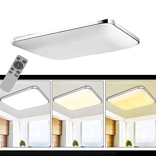 Plafoniera led plafoniera dimmerabile 72w lampada for Plafoniere moderne