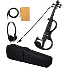 Violino elettrico 'Classic Cantabile EV-90BK' 4/4 nero