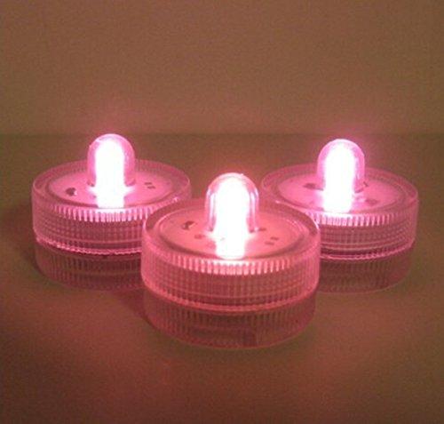 KingWinX–Estuche impermeable LED Luces de té vela