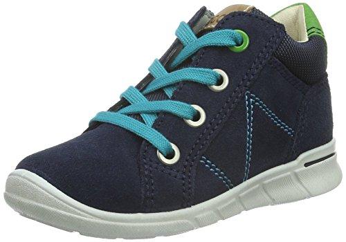 Ecco First, Chaussures Marche Bébé Garçon Bleu (WHISKY/MARINE59991)